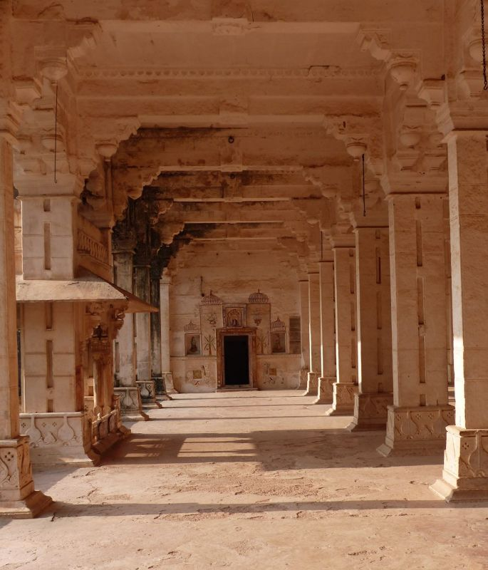 Hall of Public Audience - Bundi Palace