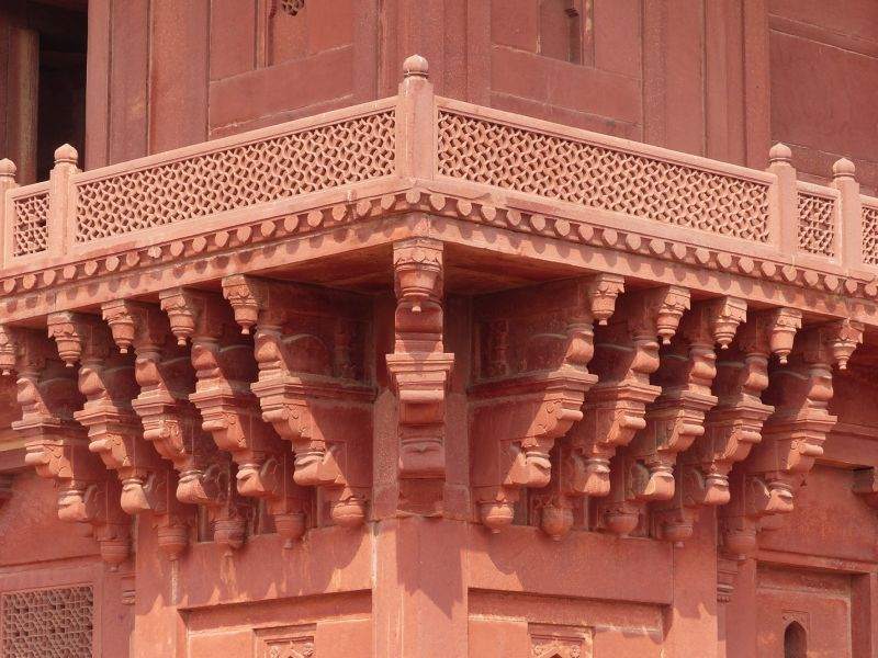 Diwan-i-Khas: the Hall of Private Audience - Fatehpur Sikri