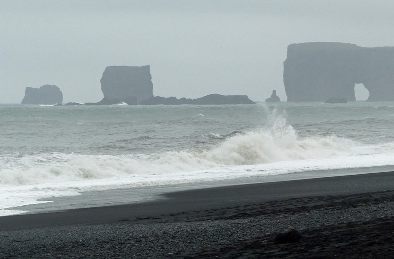 Waves at Reynisfjara