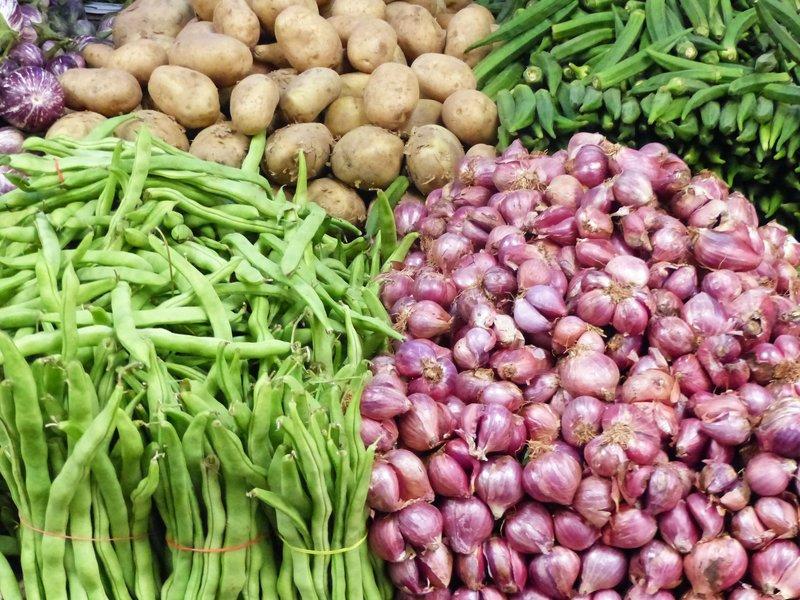 In Munnar market
