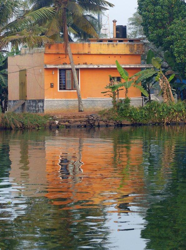 House on the Kerala backwaters