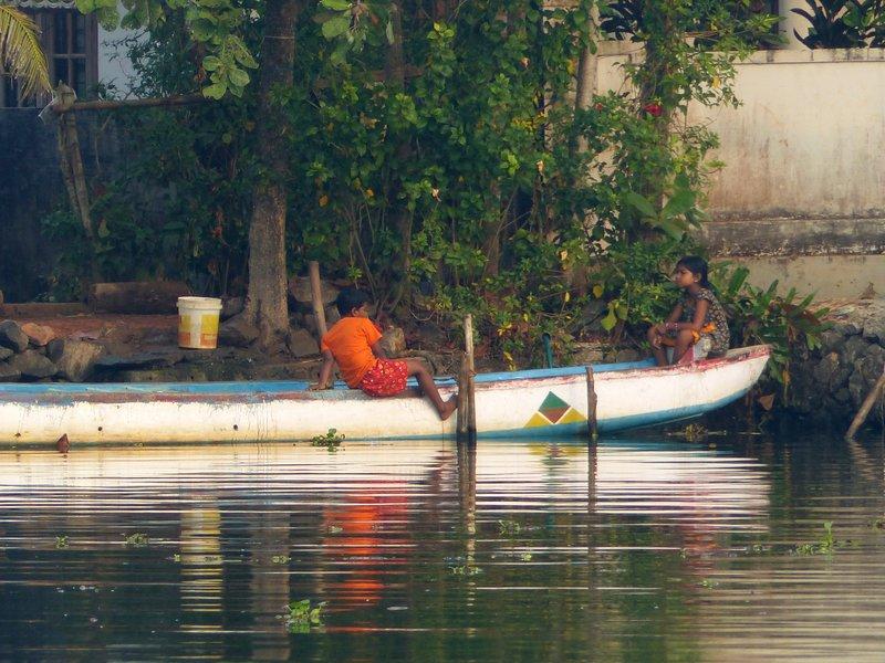 On the Kerala backwaters