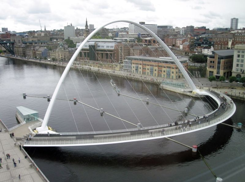 From the viewing platform - Newcastle upon Tyne