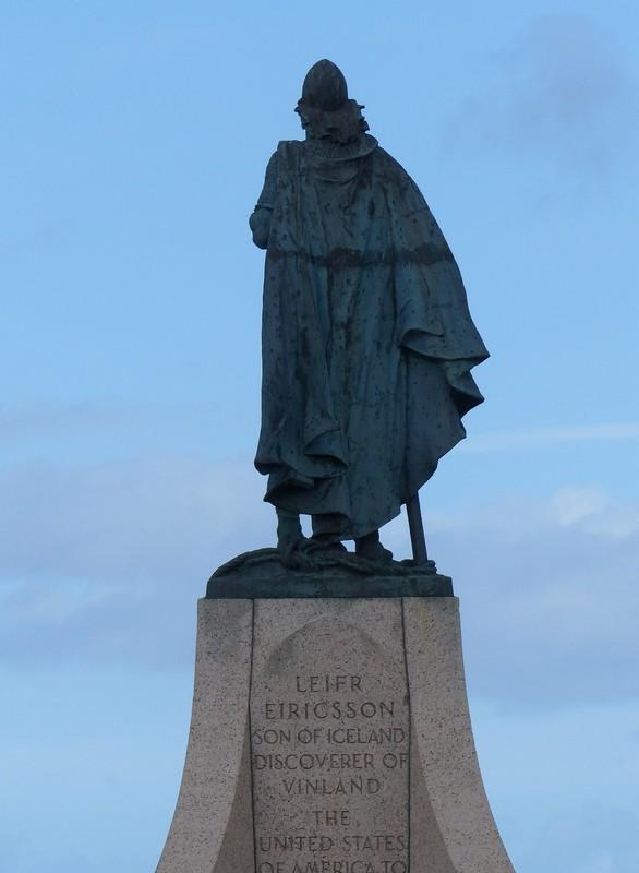 Statue of Leif Erickson, Hallgrimskirkja, Reykjavik