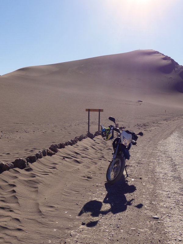 Big dune, Valle de la Luna