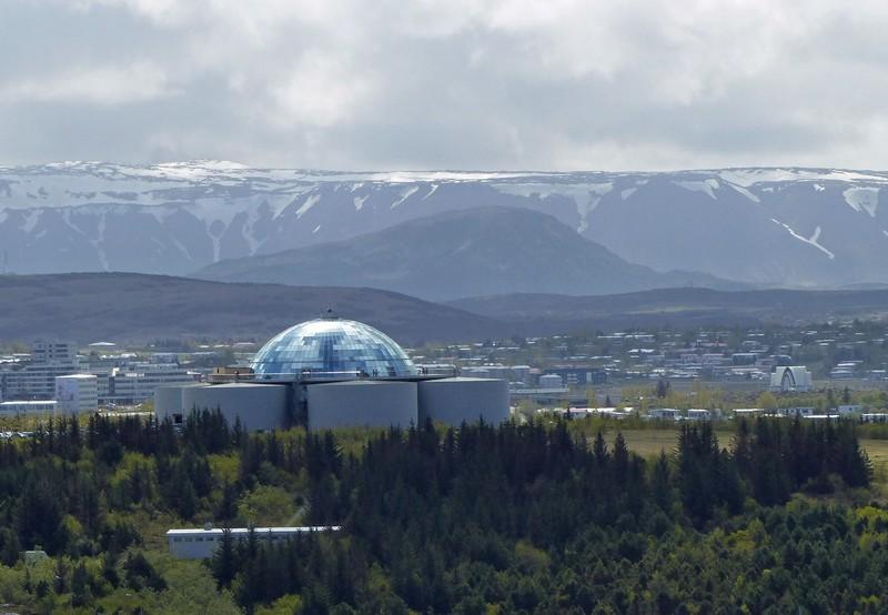 View from Hallgrimskirkja, Reykjavik