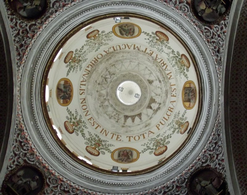 Dome of La Merced church