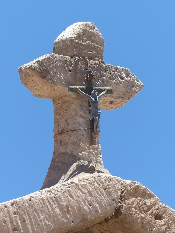 Church roof, Toconao, Atacama Desert