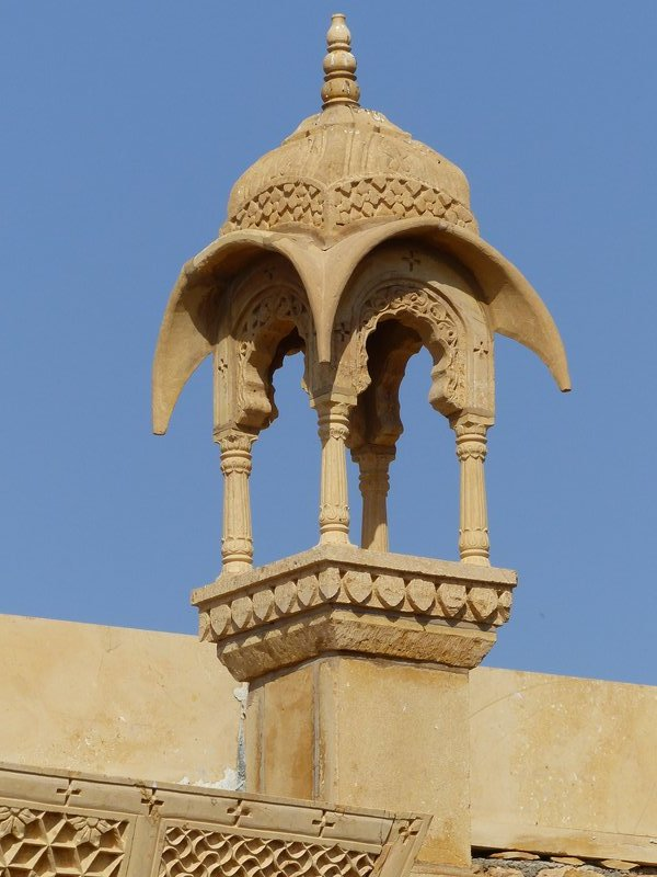 Building detail, Jaisalmer Fort