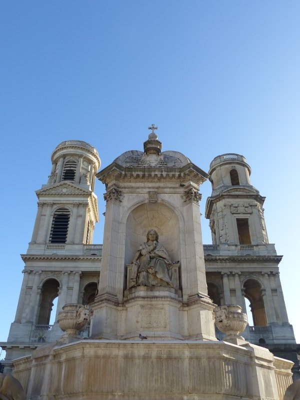 Saint Sulpice and the Fountain of the Bishops