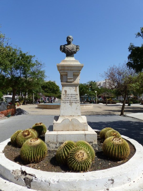 Bust of General Alexandre de Almeida e Albuquerque