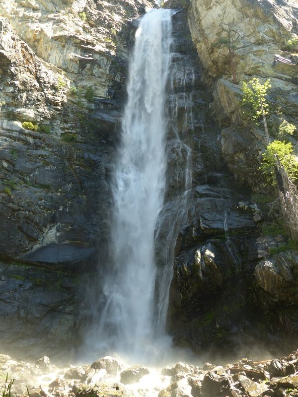 Rainbow Falls near Stehekin, Lake Chelan, WA