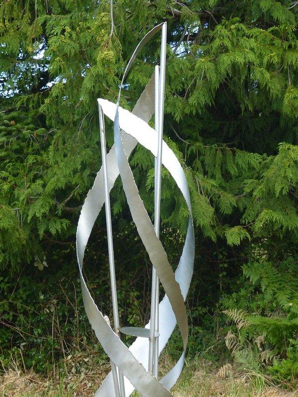 At San Juan Islands Sculpture Park