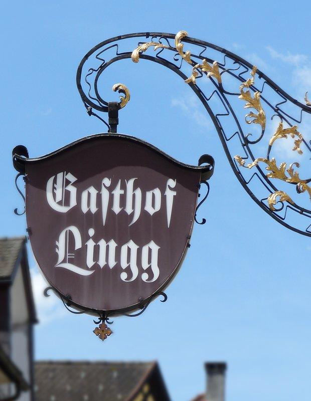 Old sign, Feldkirch