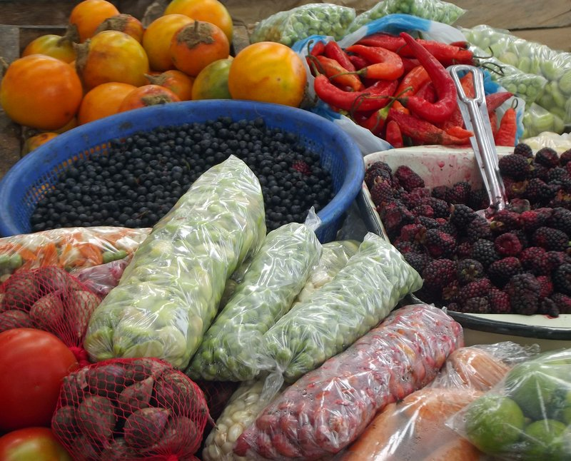 In Pujili market