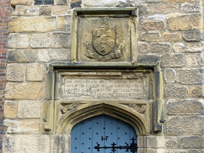 Old doorway, Blackfriars, Newcastle