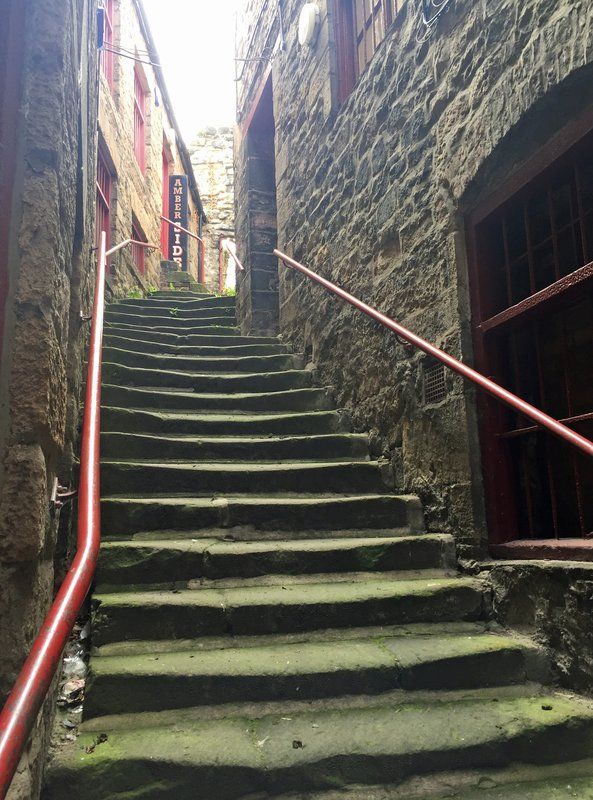 Stairs near the Side Gallery, Newcastle