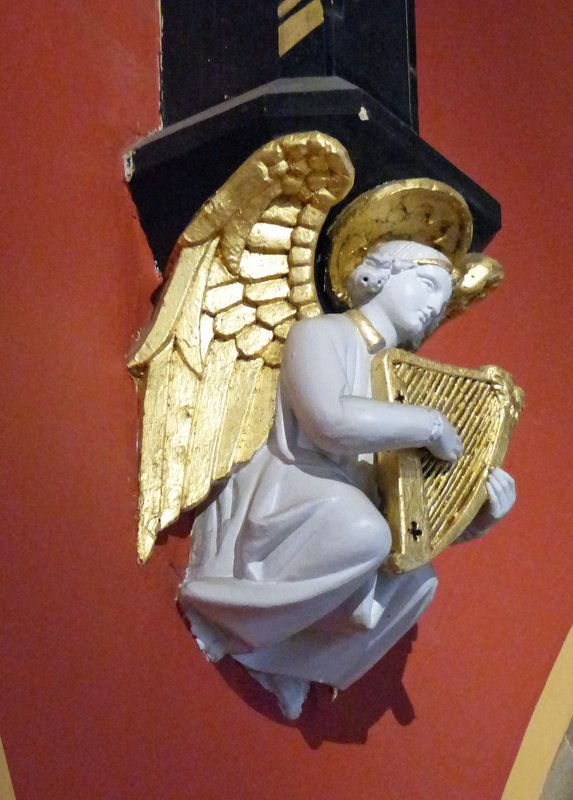 St Marys RC Cathedral - cherub