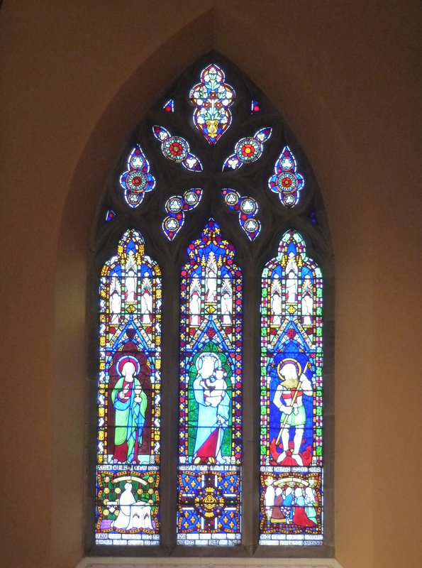 St Marys RC Cathedral - stained glass window