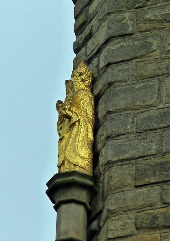 St Nicholas Cathedral, Newcastle - detail of tower