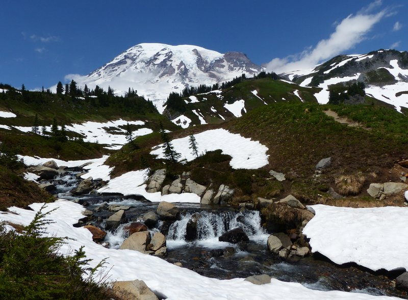 Upper Myrtle Falls, Mount Rainier NP