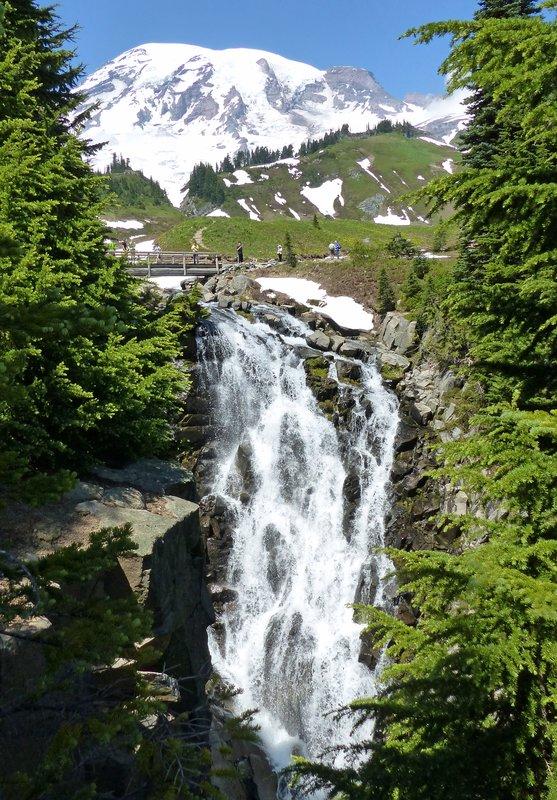 Lower Myrtle Falls, Mount Rainier NP