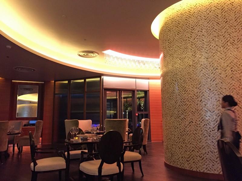 Limo restaurant, Bab al Qasr hotel, Abu Dhabi