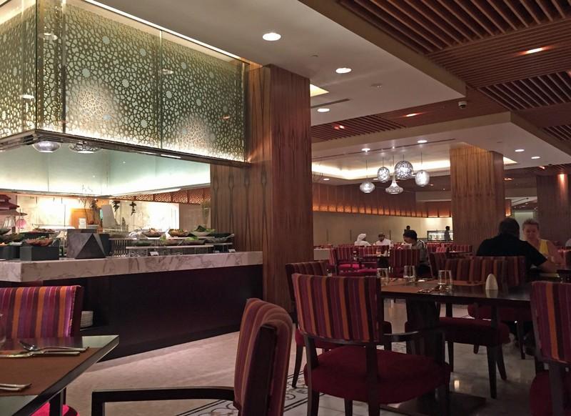Dinner in Artisan, Bab al Qasr hotel, Abu Dhabi