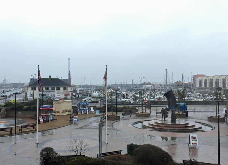 Rainy morning in St Helier