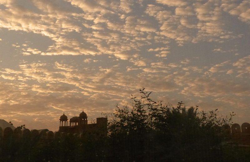 Early morning at Fort Rajwada, Jaisalmer
