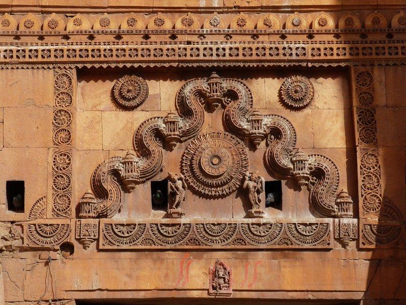 Suraj Pol detail, Jaisalmer Fort