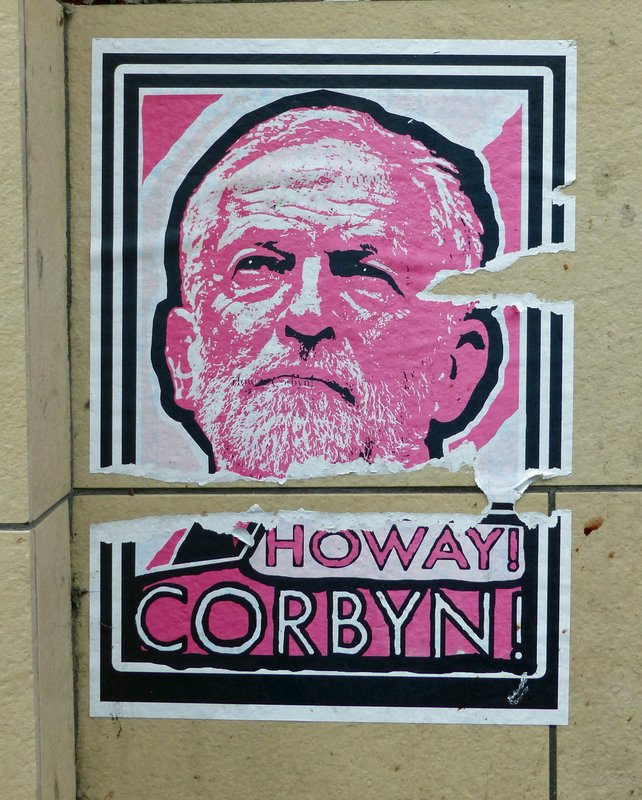 Poster in Newcastle