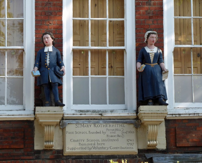 Bluecoat School in Rotherhithe