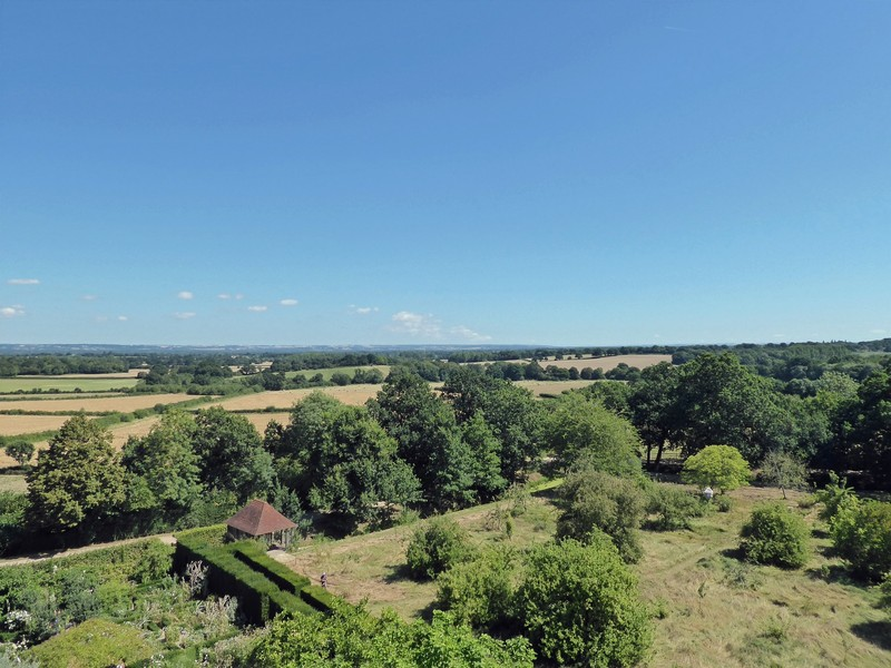View from the tower, Sissinghurst