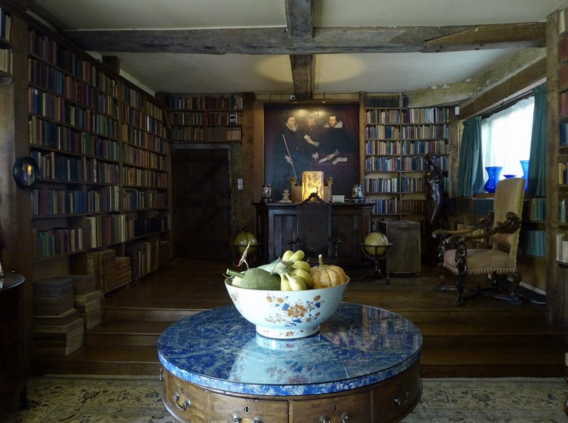 The library at Sissinghurst
