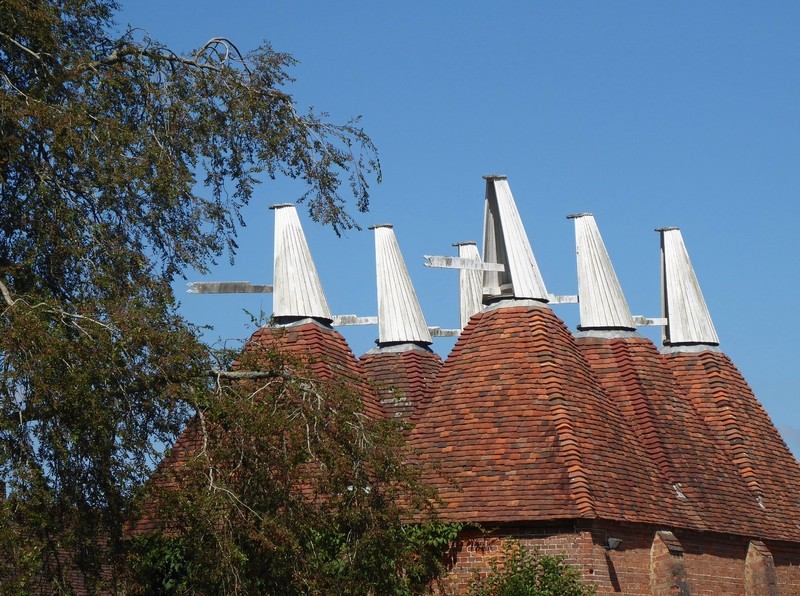 Oast houses, Sissinghurst