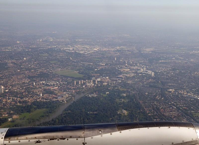Above Kew Gardens