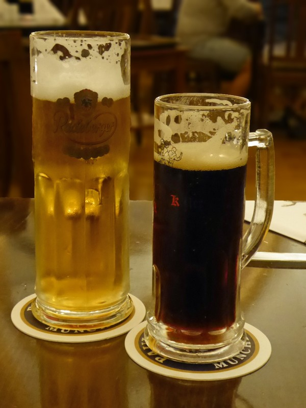Beer at the Auerbachskeller, Leipzig