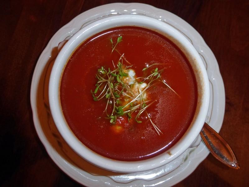 Tomato soup, Auerbachskeller, Leipzig