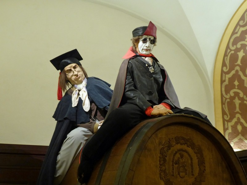 In the Auerbachskeller, Leipzig - Faust and Mephistoles