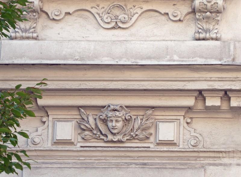 Building detail, near Eisenbahnstrasse, Leipzig