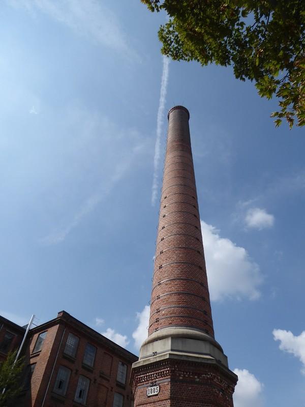 Baumvollspinerei chimney, Leipzig