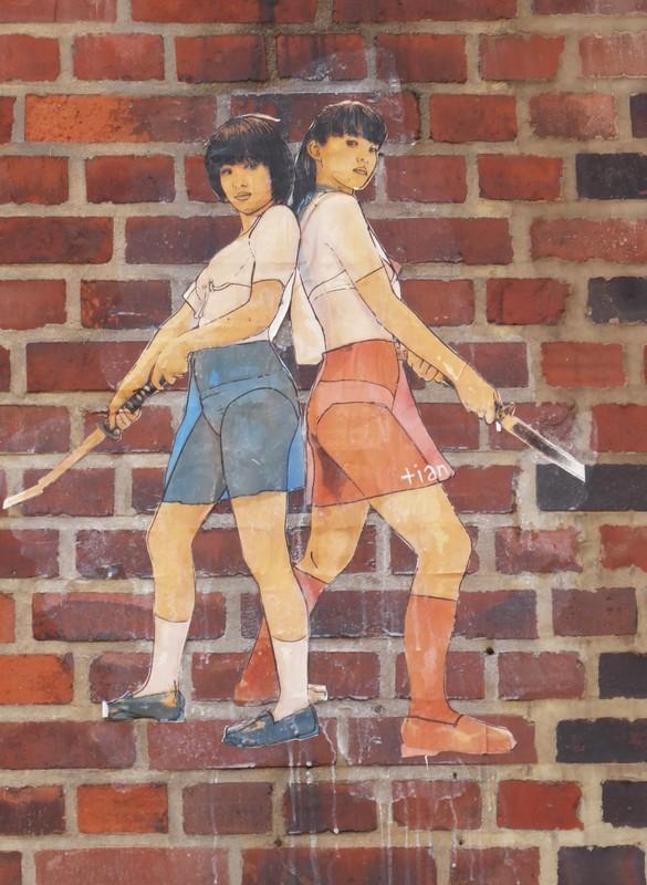 Mural at the Baumvollspinerei, Leipzig
