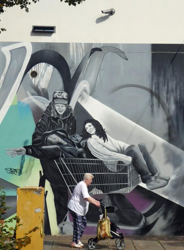 Street art in Connewitz, Leipzig
