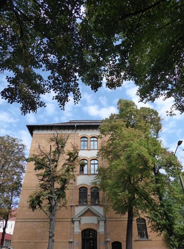 Former school in Connewitz, Leipzig