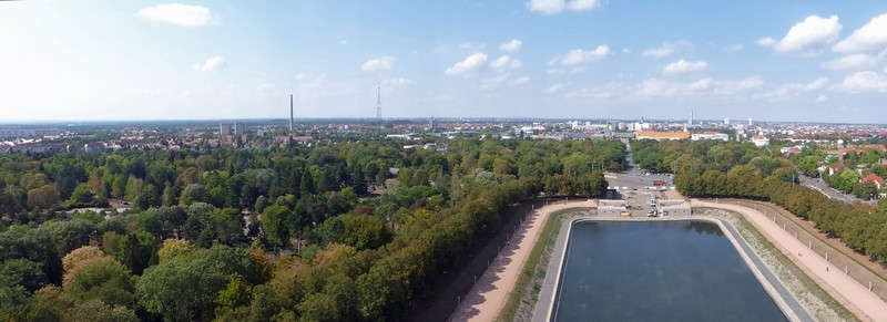 View from the Monument to the Battle of the Nations