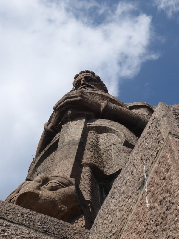 Monument to the Battle of the Nations - Watching Figure