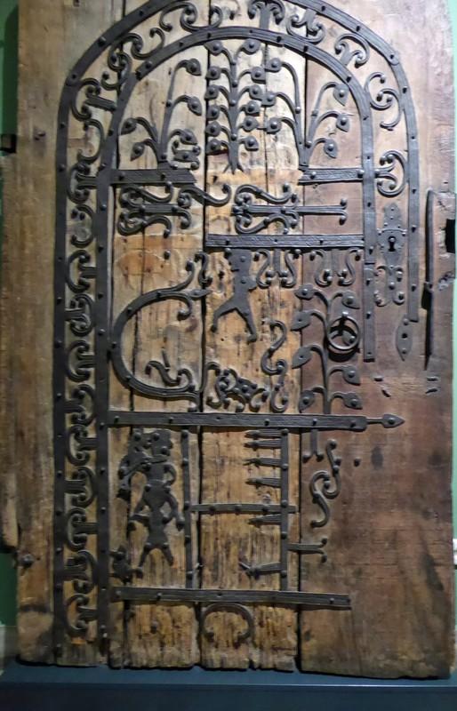 Church door, c 1200, Town Hall Museum, Leipzig