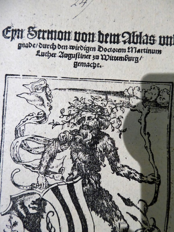 Published sermon of Martin Luther, Town Hall Museum, Leipzig