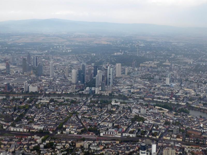 Above Frankfurt